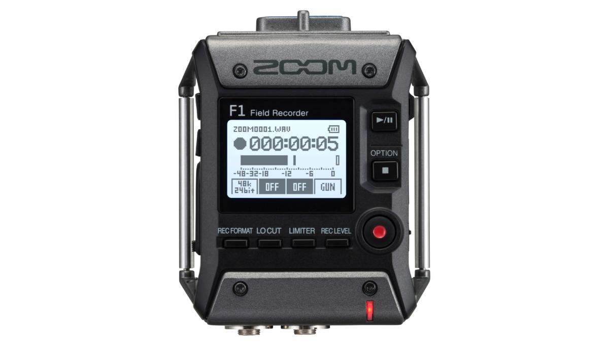 zoom f1-sp microfoon voor film, video