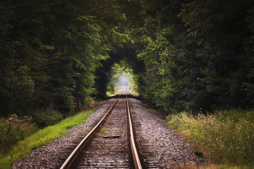 Gedood door trein bij maken foto's