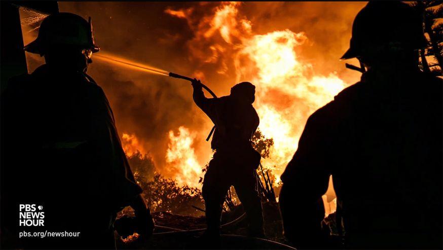 tragedie brandweerman blust vuur
