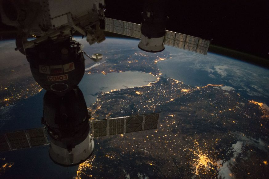 Ruimte foto's ISS
