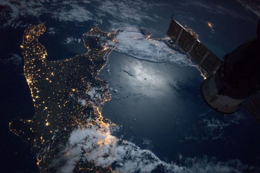 ISS foto's