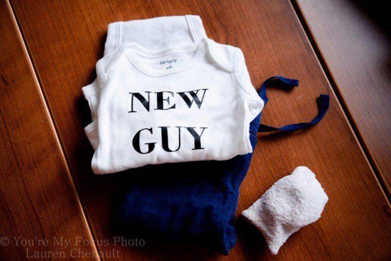Fotografe legt eigen bevalling vast