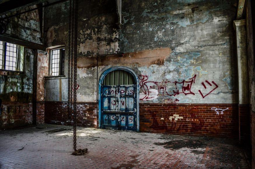 urbex, urban exploring, top 5, foto's