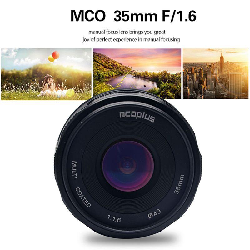 MCO 35mm f/1.6 MFT