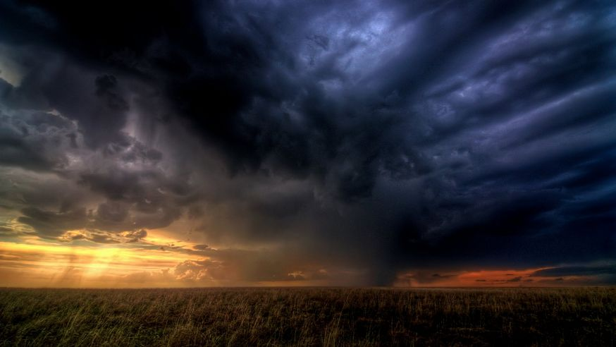 Prachtige time-lapse van wolken
