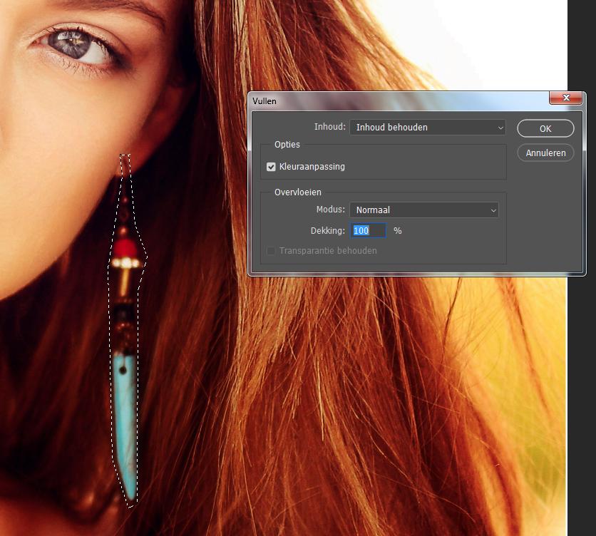 Snel afleidende zaken uit je foto verwijderen met photoshop