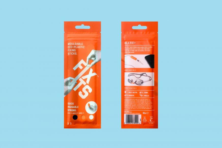 Plastic sticks repareren camera gear