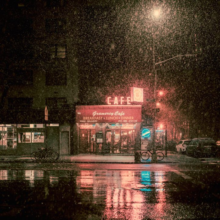 Tijdloos Nieuw York bij nacht
