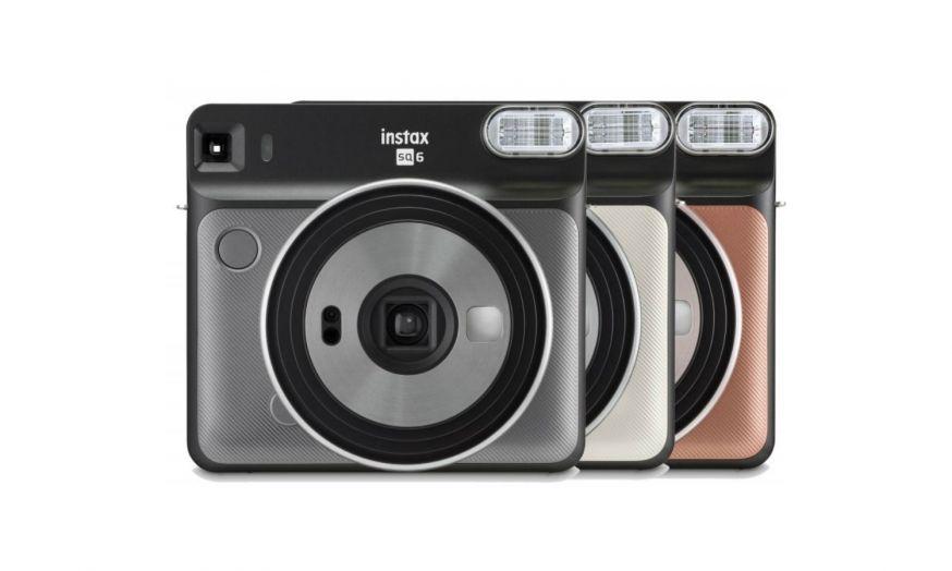 nieuwe Fujifilm Instax Square SQ6 voor analoge selfies