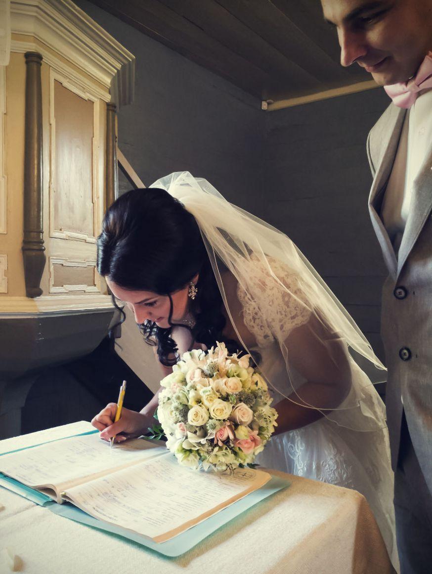 Bruiloft gefotografeerd met smartphone