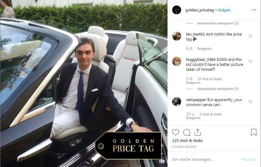 Instagram voor rijke instagrammers
