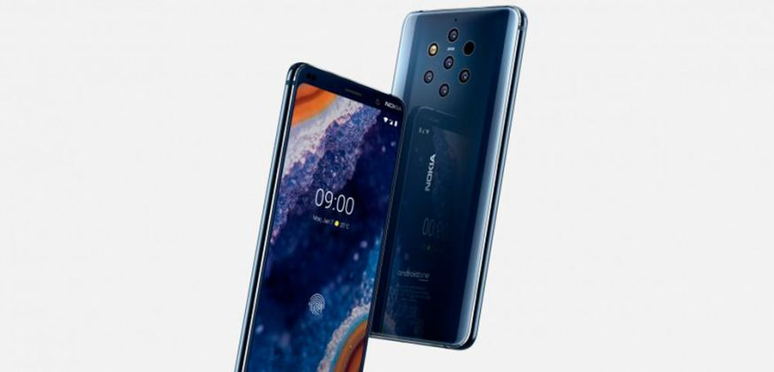 Nokia 9 pureview bokeh phone telefoon camera