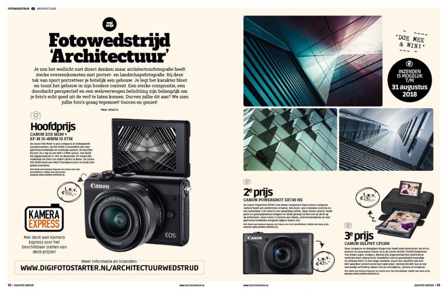 fotowedstrijd architectuurfoto nieuwe digifoto starter 2018