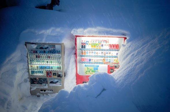 Snoep- en drankautomaten
