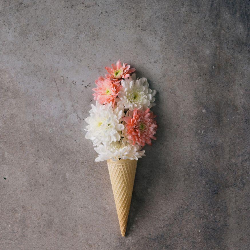 Kunst van bloemen en bladeren