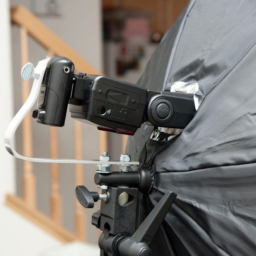 DIY: maak je eigen paraplu-softbox
