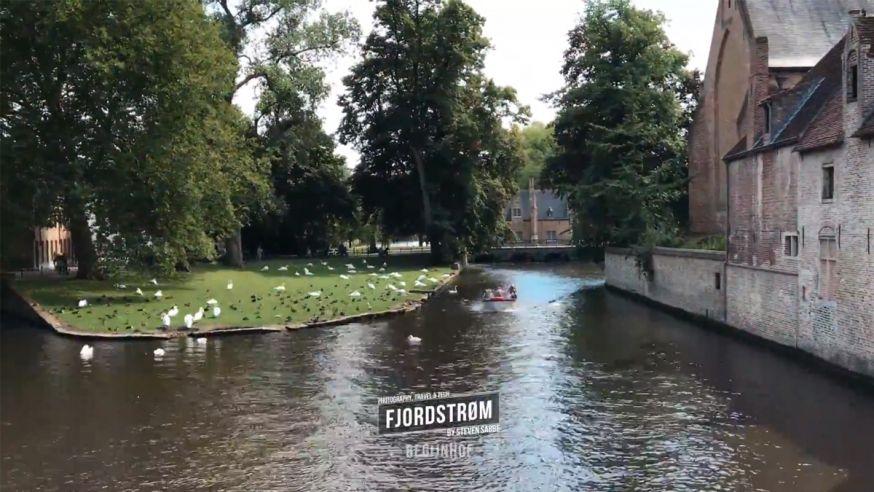 Prachtige hyperlapse van Brugge