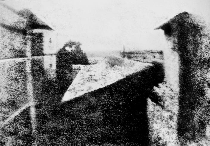 Internationale dag van de fotografie: de eerste foto ooit gemaakt