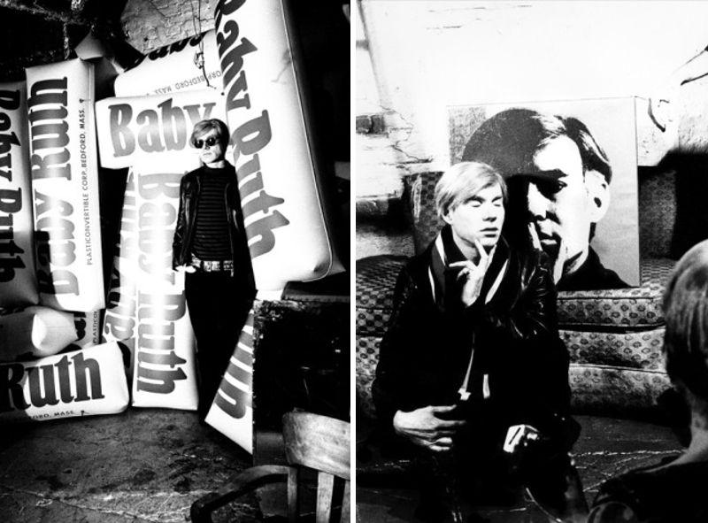 Andy Warhol door Billy Name