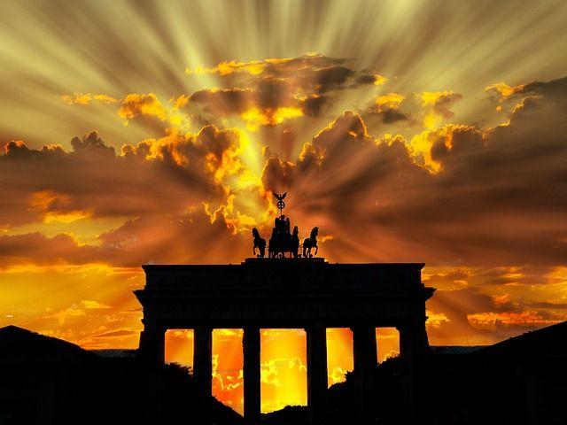 zonsondergang, gouden uren