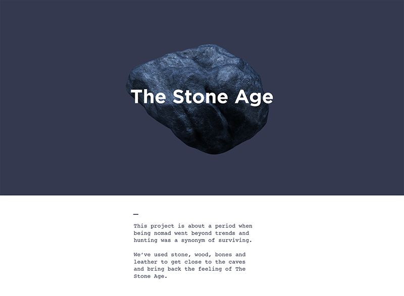 stenen tijdperk