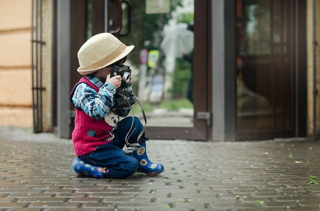kinderen, kinderen en fotografie