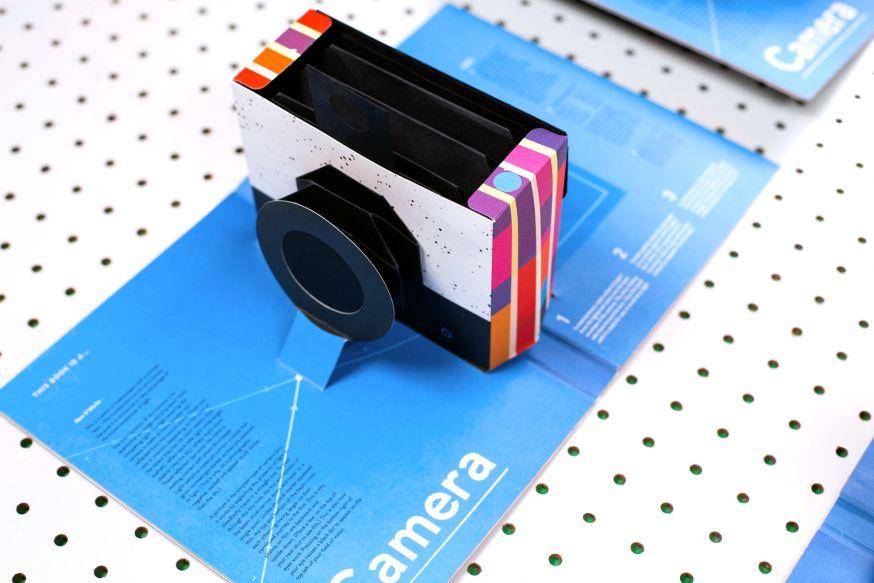 Pop-up camera