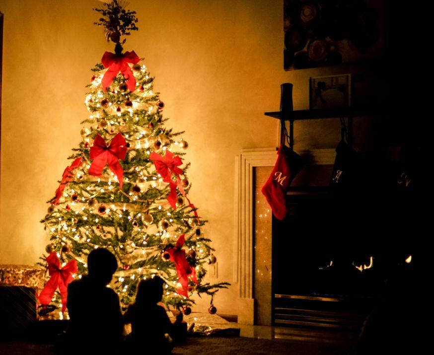 kerst, kerstboom, kerstboom fotograferen, familie, familieportret