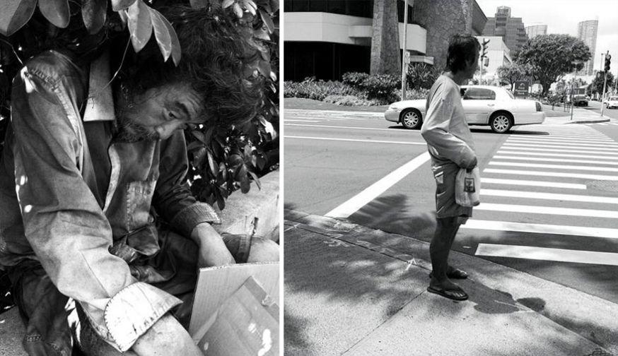 Fotograaf ontdekt eigen vader tussen daklozen
