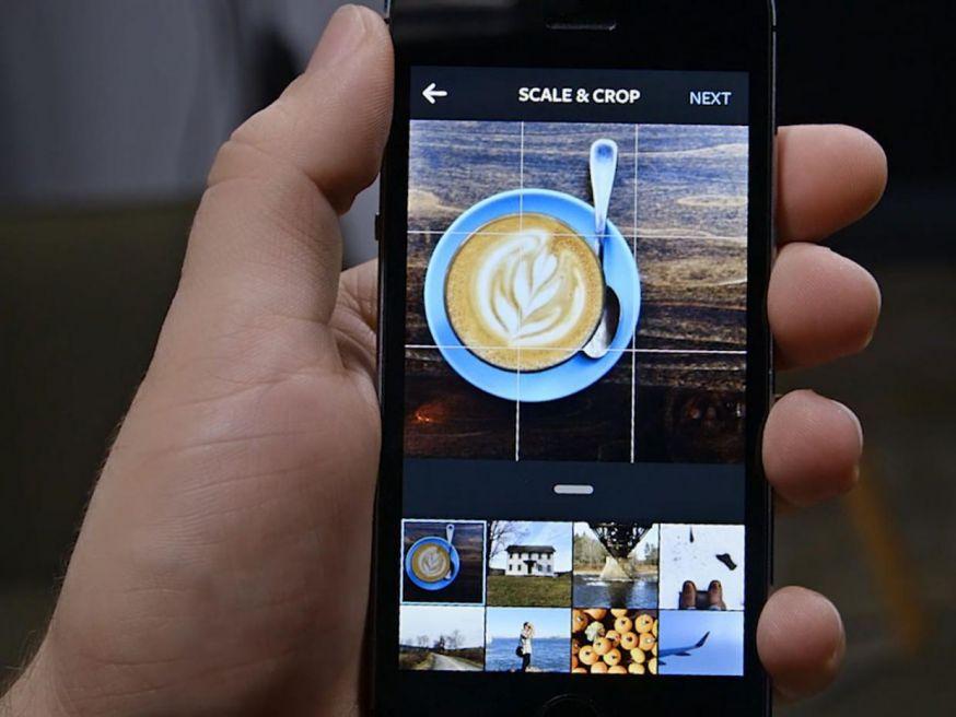 Instagram post als concept opslaan