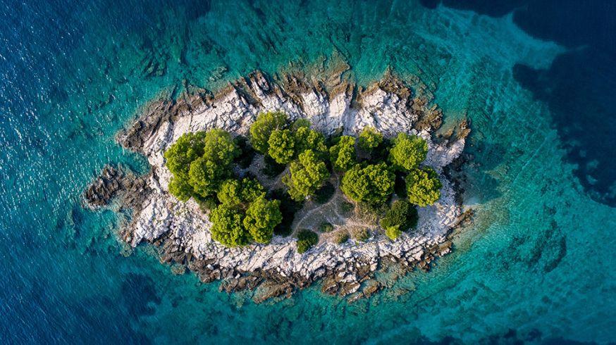 Drones gebruiken voor prachtige luchtfoto's