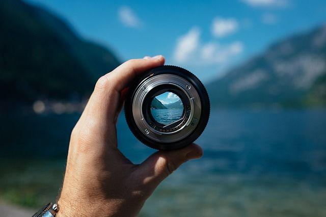 analoog, digitaal, objectief, lens