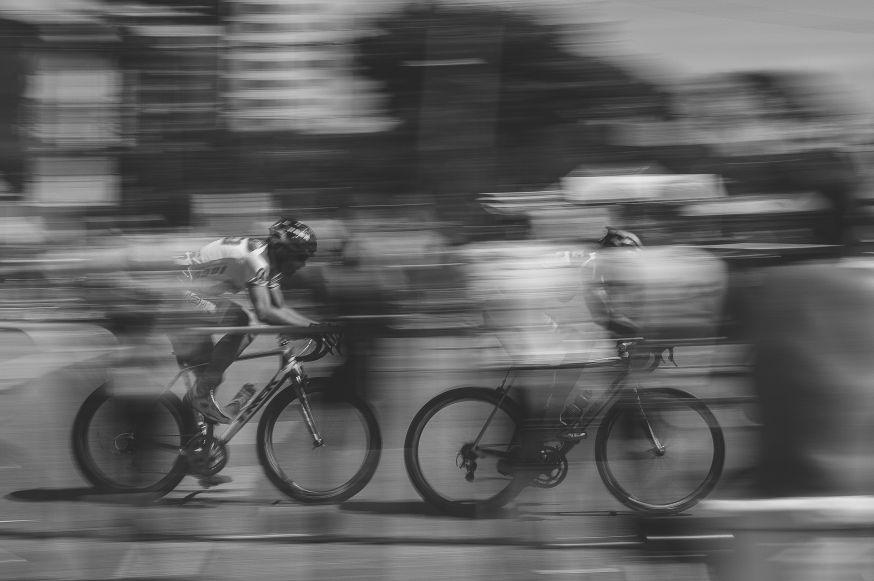 fotograferen wielrenners