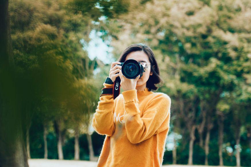 vrouwelijke fotograaf