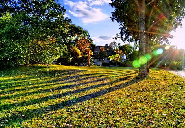 lensflare, zonneflare