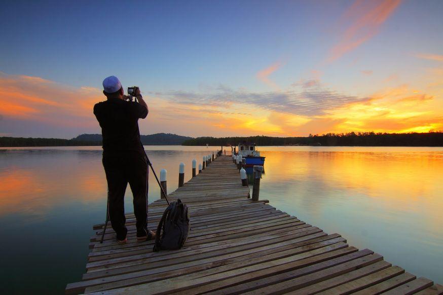 fotograaf, landschap