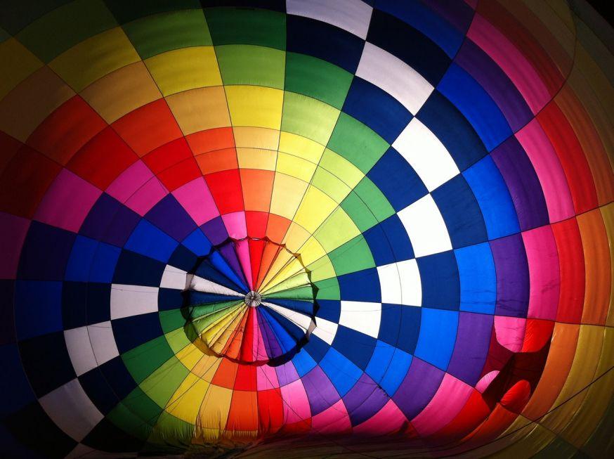 Kleur, luchtballon