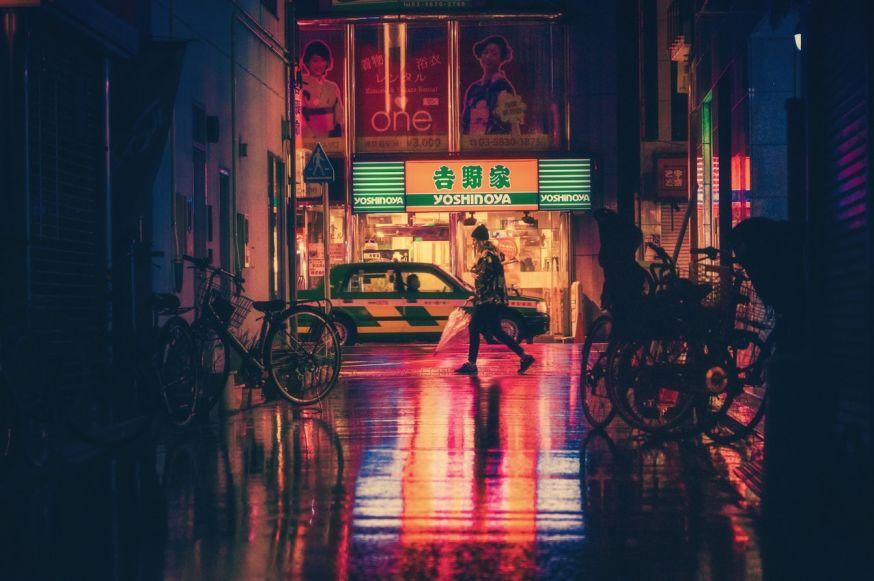 Straatfotografie, 's nachts