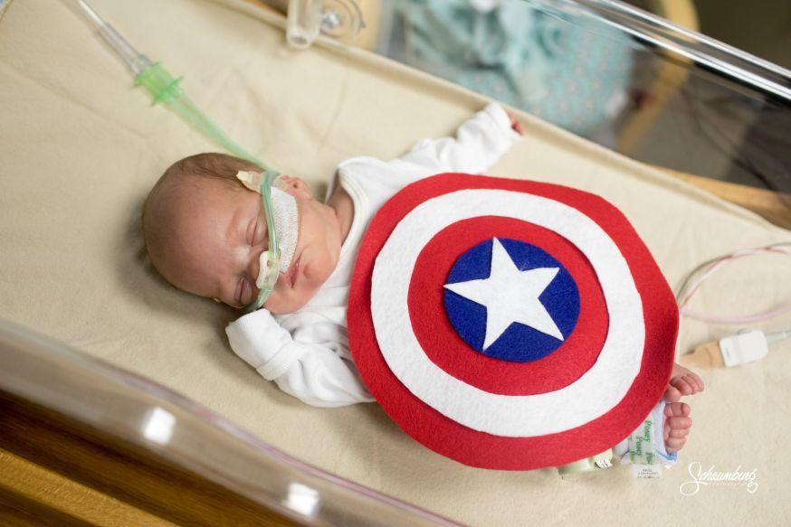 Kleine superhelden vechten voor leven