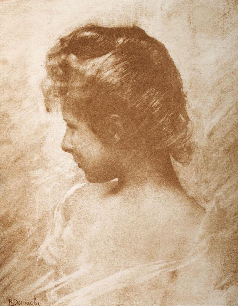 Robert Demachy's prachtige gomdruk portretfoto's