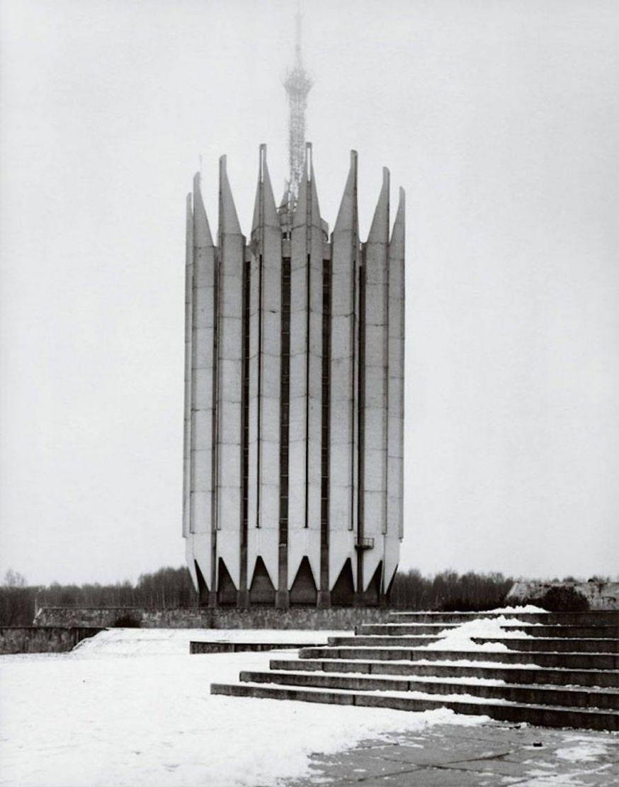 Chaubin fotografeert Sovjet-architectuur