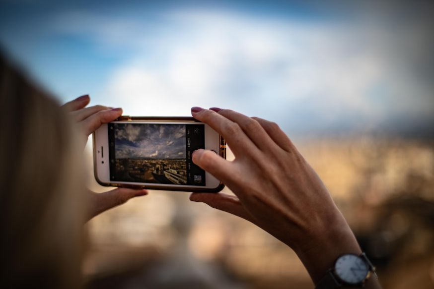 Mobiele fotografie, mobiele foto's