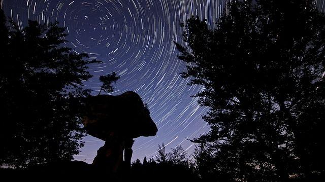 sterrenspoor, sterrensporen, nachtfotografie