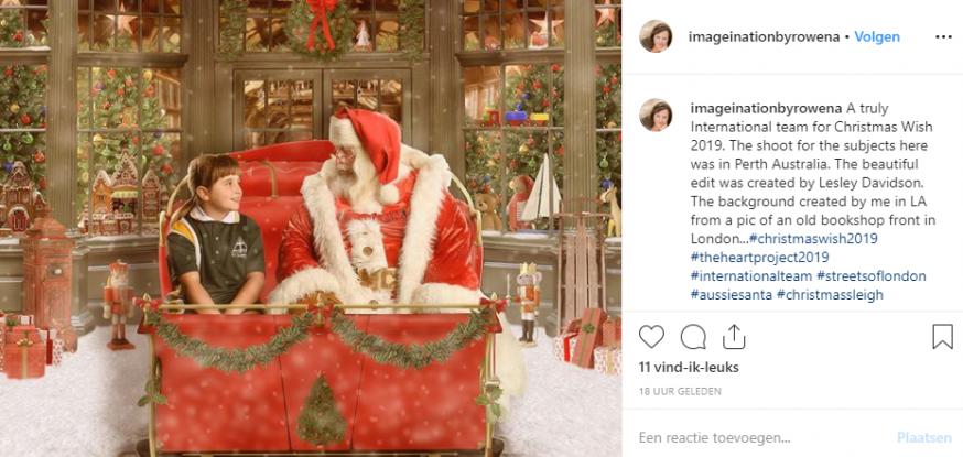 magische kerst, kerst, Christmas Wish project, christmas wish 2019, zieke kinderen,kerst fotoshoot