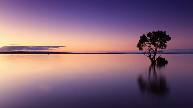 zonsondergang, kleuren sprekender maken, verzadiging in Photoshop
