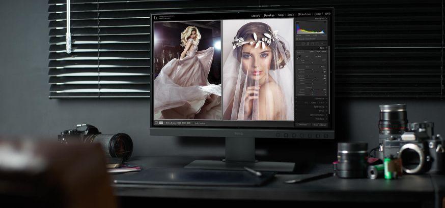 benq sw240 monitor beeldscherm