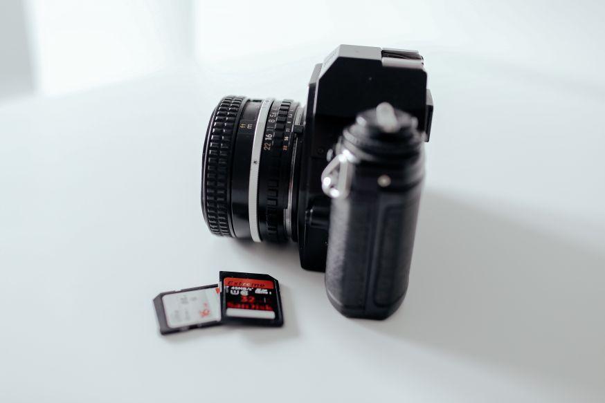 geheugenkaarten, SD kaart